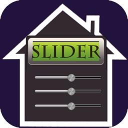 Slider Mortgage Calculator