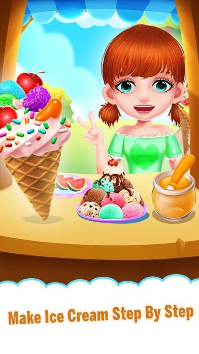Yummy Ice Cream Making Shop screenshot one