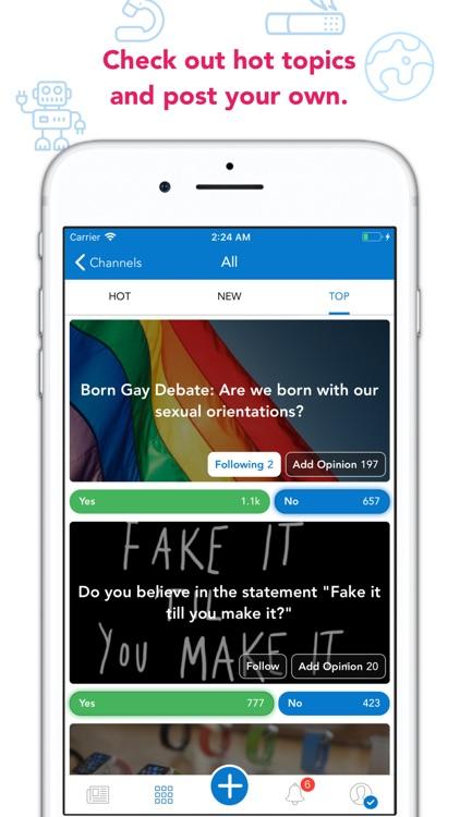 Contra — Vote, Debate, Learn