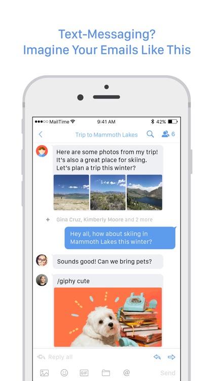 MailTime Email Messenger screenshot-0