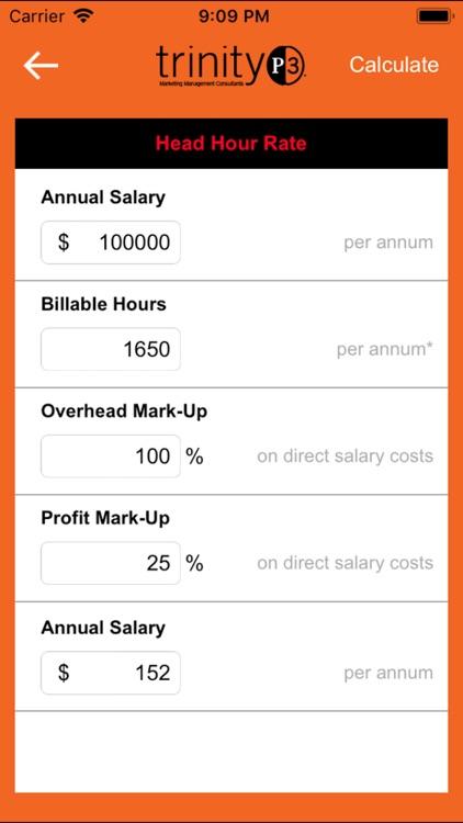Resource Rate Calculator screenshot-3
