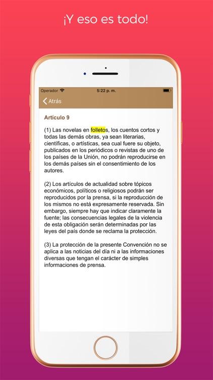 iLex Tratados Internacionales screenshot-4