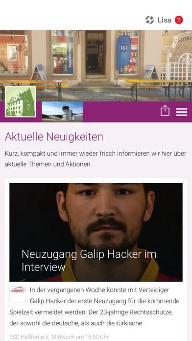 点击获取Stadtportal Haßfurt