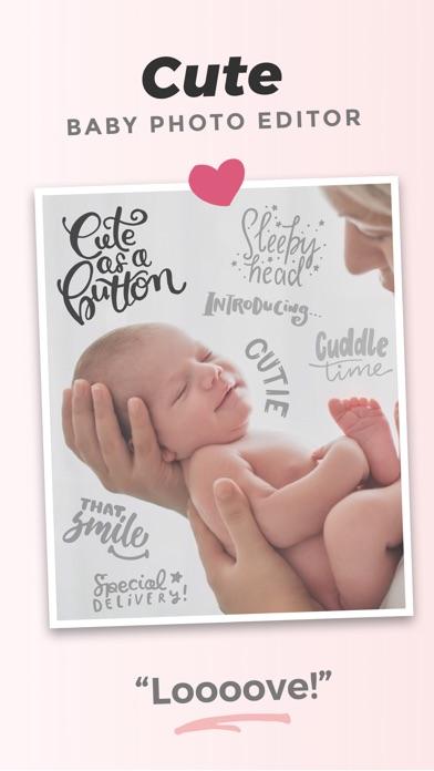 Adorable - Baby Photo Editorのスクリーンショット