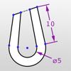 ドローまで - 拘束と寸法の2D CAD図...