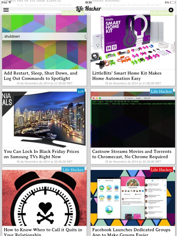 iGeeky - Gadget News and Tech Updates screenshot