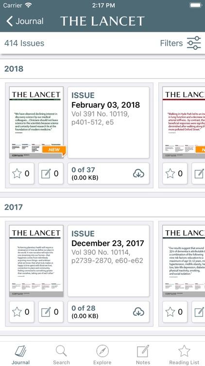 The Lancet screenshot-3