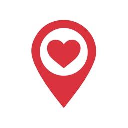 Afbeeldingsresultaten voor pinpoint symbol love