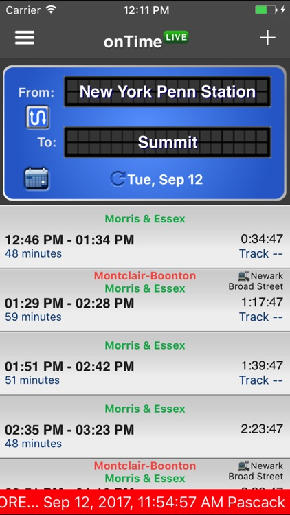 onTime : NJT, Light Rail, Bus screenshot-3