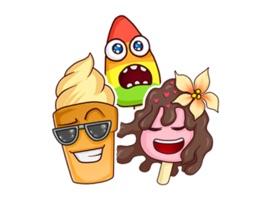 Renkli Dondurmalar