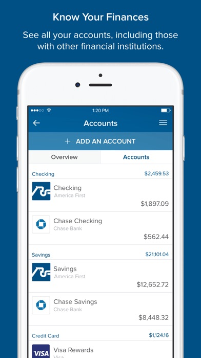 America First Credit Union App Price Drops