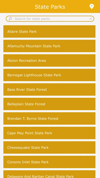 New Jersey State Parks Guide screenshot-1