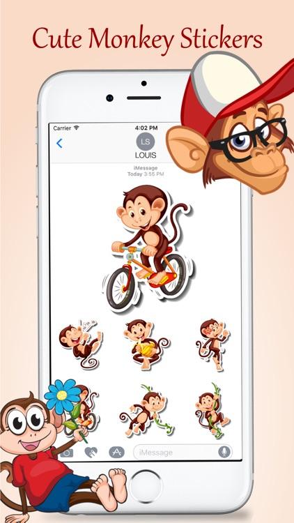 Animated Monkey Friends