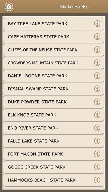 North Carolina - Camping Guide screenshot-4
