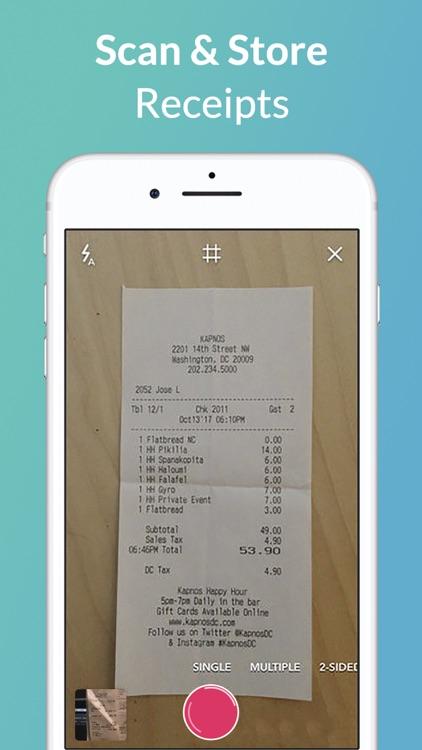 1tap receipts: Tax & Expenses screenshot-3