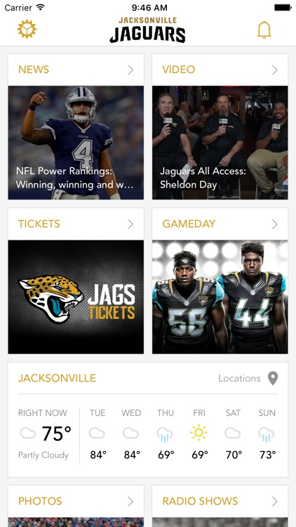 Old Jacksonville Jaguars screenshot-0