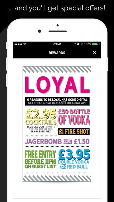 The Loyal App screenshot two