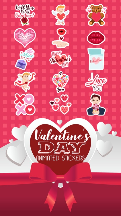 Valentine's Animated Stickers