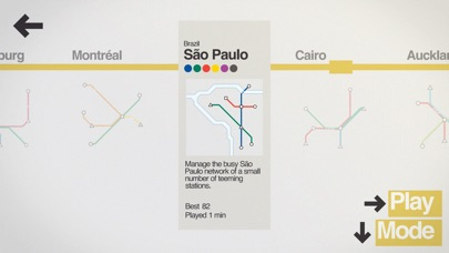 Screenshot #8 for Mini Metro