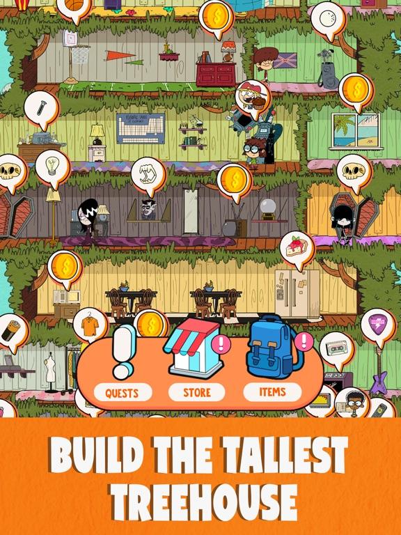 Loud House: Ultimate Treehouse screenshot 12