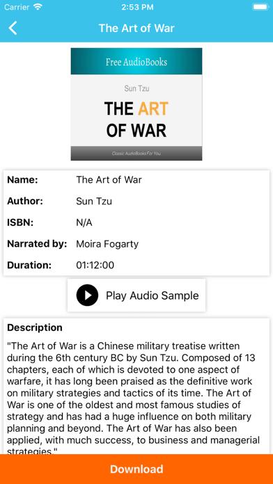 Literature Audiobooks screenshot two