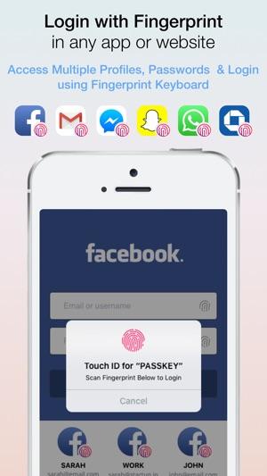 Fingerprint Login:PassKey Lock on the App Store