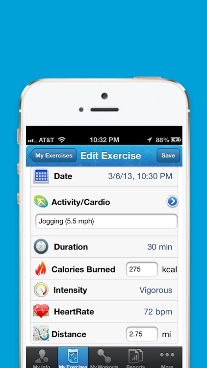 iExercise Journal screenshot-1