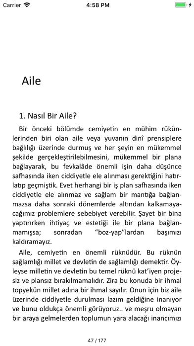 Fethullah Gülen Kitaplığı screenshot four