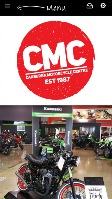 Canberra Motorcycle Centre screenshot one