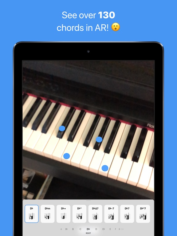 Tonic - AR Chord Dictionary Screenshots