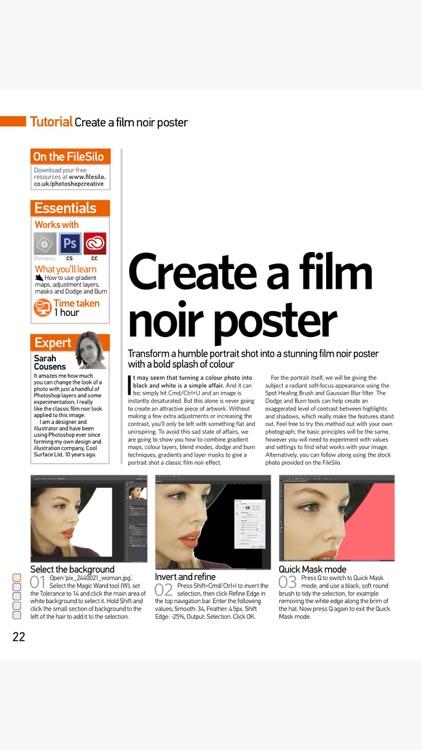Photoshop Creative Magazine screenshot-3