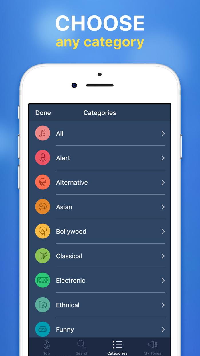 Ringtones for iPhone! Screenshot