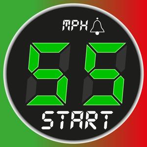 Speedometer 55 Start. GPS Box. Navigation app