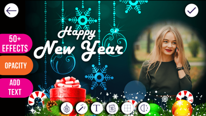 New Year Photo Frames screenshot three