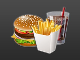 3D Food Hut is a custom handmade stickers pack for iMessage