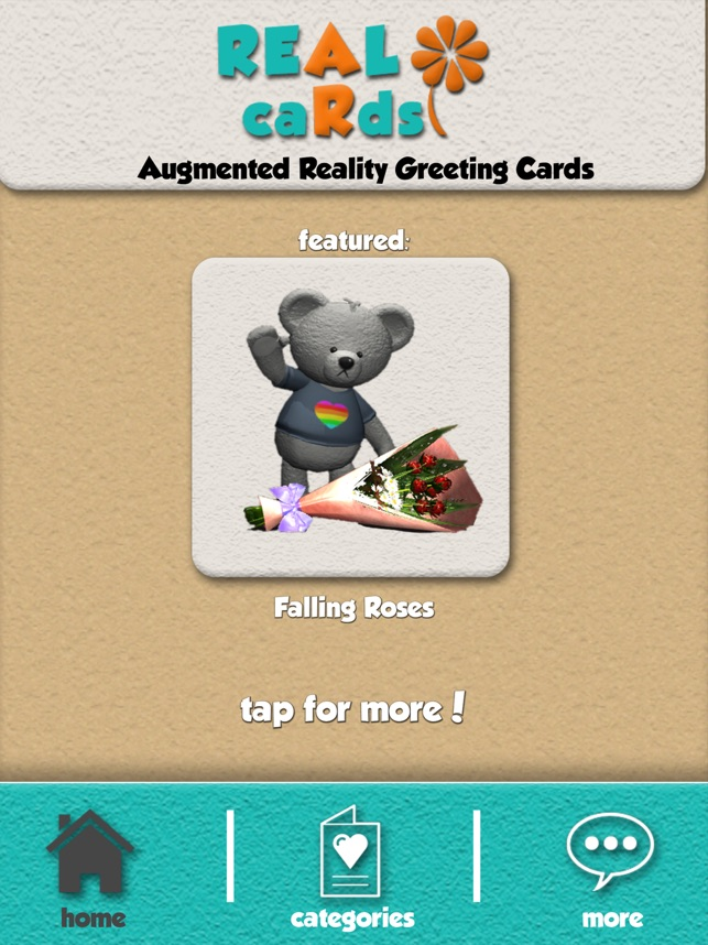 Real cards ar greeting cards on the app store real cards ar greeting cards on the app store m4hsunfo