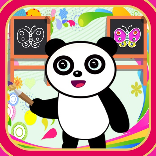 Panda sketch and drawing iOS App