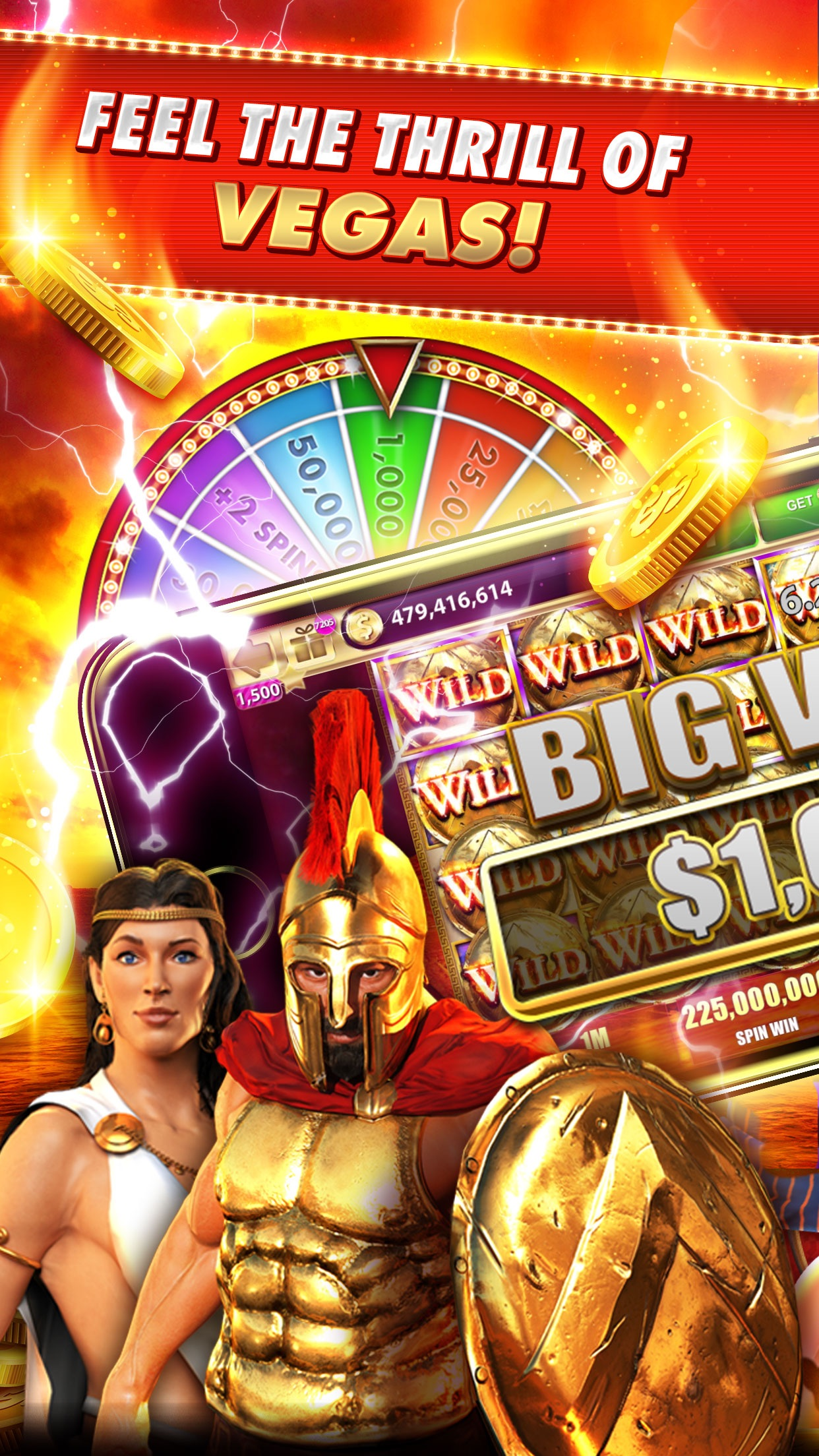 Slots Craze: 777 Slot Games Screenshot