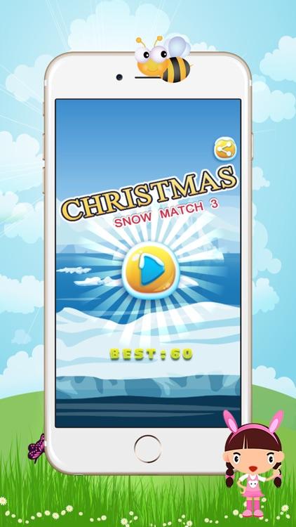 christmas snow match 3