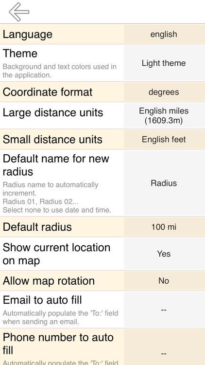 Radius on Map Full Version screenshot-3
