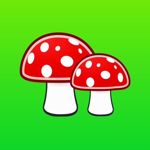 Mushroom Stickers Pro