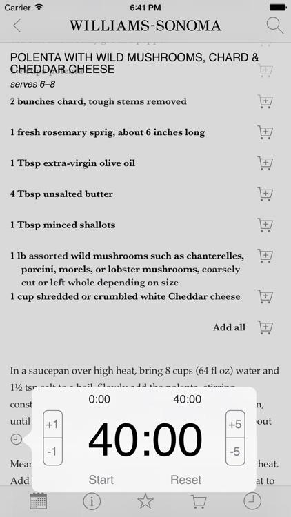 Williams Sonoma Recipes screenshot-4