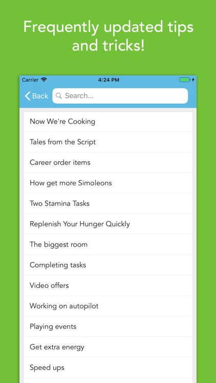 Cheat Sheet for Sims Mobile by Twisted Society AB