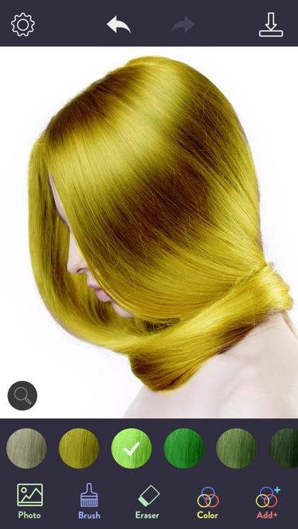 Hair Color Dye - Hairstyle DIY screenshot-3