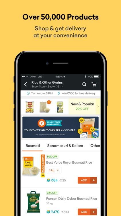 Grofers - Online Grocery screenshot-2