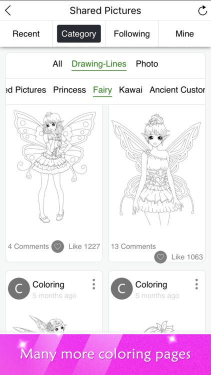 Princess Coloring Book Show screenshot-3