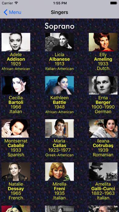 Famous Classical Singers | App Price Drops