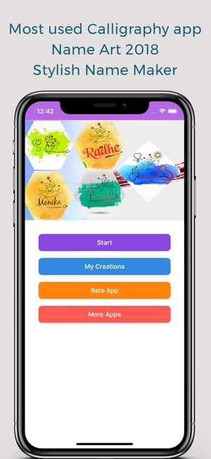 Name Art Gallery - Name Maker on the App Store