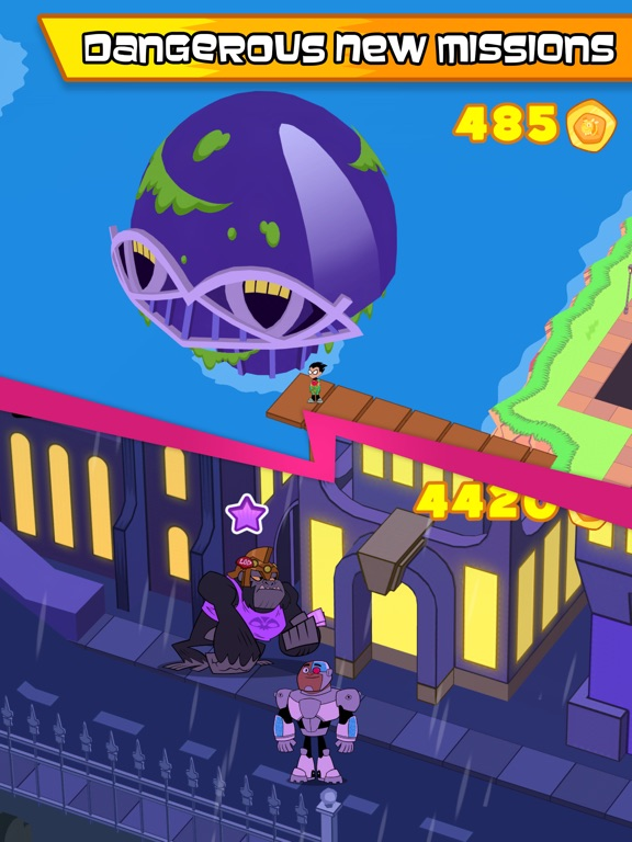 Teen Titans GO Figure! tablet App screenshot 4