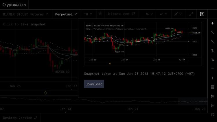 Cryptowat.ch screenshot-4
